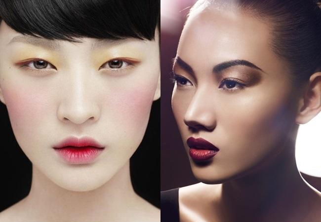 maquiagem orientais