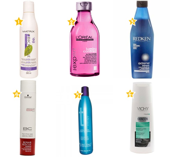 melhores shampoos de tratamento