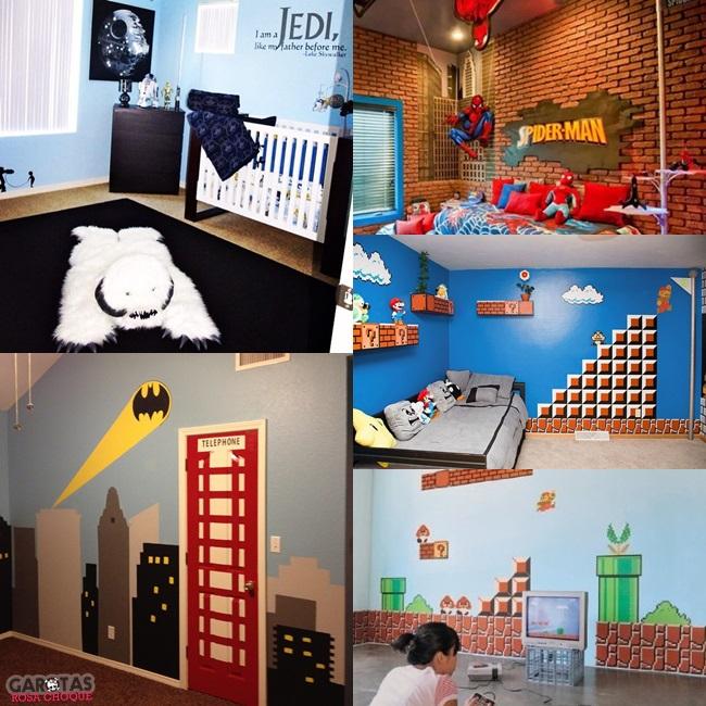 decoração geek games nerd