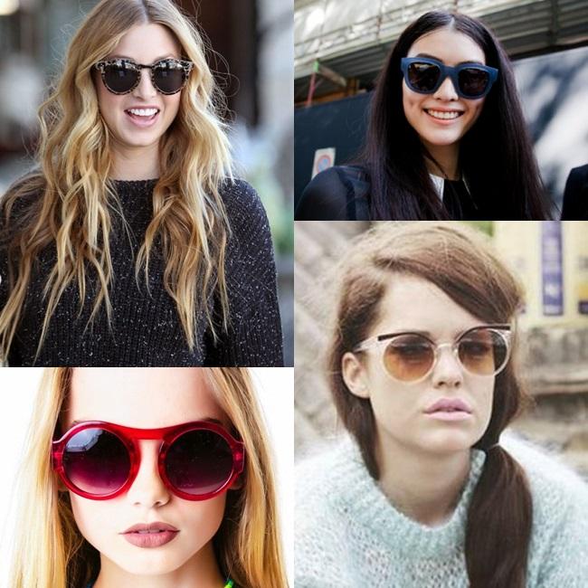 óculos de sol da moda