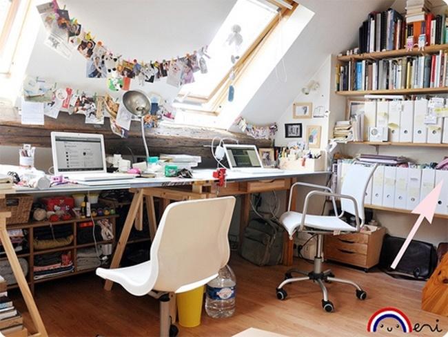 inspiração escritórios em casa