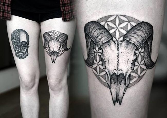 tatuagem-carcaça-animal
