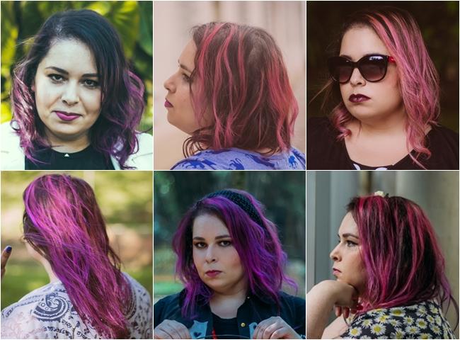 A história recente do meu cabelo
