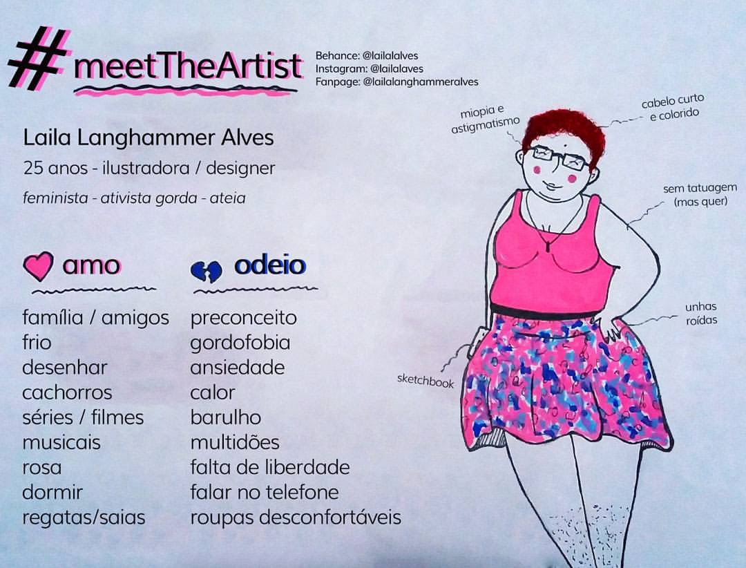 Laila Langhammer Alves ilustradora