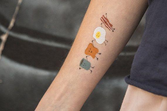 Tatuagem de comida