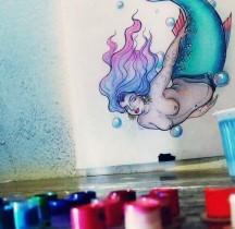 Tatuagem Sereia Gorda by Jessie Syon