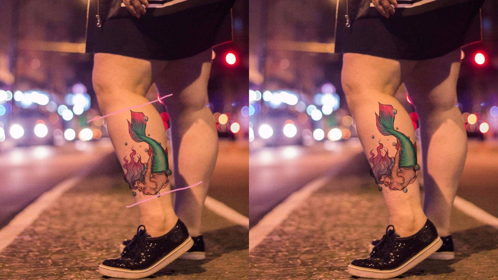 Preview tatuagem na pele